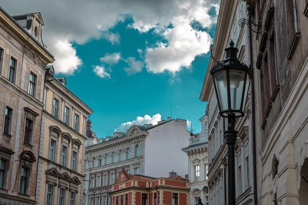 Praha bytové domy
